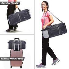 Durable Nylon Travel Bag Women Men Large Capacity Folding Weekend Duffle Bag
