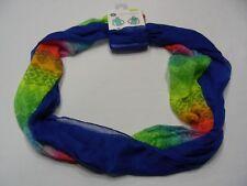 Pack 2 - Estampado Arco Iris & Azul - talla única Ligero Infinity Bufanda