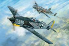 Focke Wolf Fw190a-5 Fighter 1:18 Plastic Model Kit HOBBY BOSS