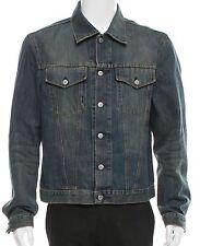 Helmut Lang Rare Archival Vintage Dark Denim Jacket Sz IT 54