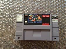 Final Fight 2 (Super Nintendo, SNES) Game Cart - Authentic - Tested