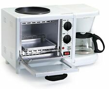 Coffee machine maker pot brew breakfast oven toaster home kitchen 3in1 combo USA