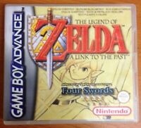 Legend Of Zelda Link To The Past Game Boy Replacement Game Case Box Cover RPG