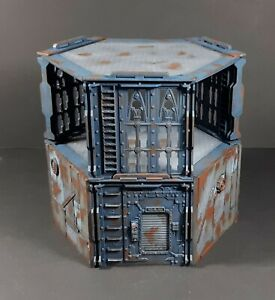 Necromunda Warhammer 40k Terrain Shanty Hovel 2 Tower Underhive Zone Mortalis