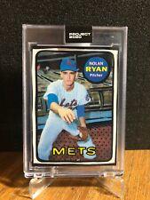 New listing Topps PROJECT 2020 Nolan Ryan Mets #87 Joshua Vides 1969 Rookie rc Art Card