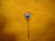 Vintage Yugoslavia Football Association soccer badge stick pin