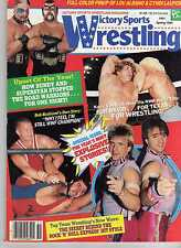 VICTORY SPORTS WRESTLING SPRING 1985 RIC FLAIR KERRY VON ERICH ROAD WARRIORS WWE