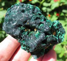 57mm 2.4OZ Green MALACHITE Chatoyant CRYSTAL GEM