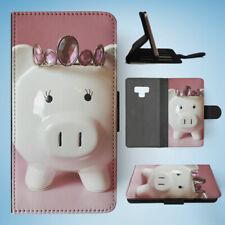 SAMSUNG GALAXY NOTE 9 FLIP CASE WALLET COVER|MONEY BANK PIG 2
