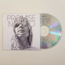 BASIA BULAT : PROMISE NOT TO THINK ABOUT LOVE ♦ French CD Single Promo ♦