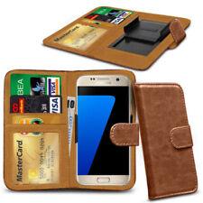 Fundas y carcasas color principal marrón de piel sintética para teléfonos móviles y PDAs Xiaomi