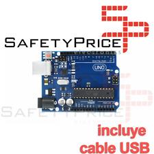 UNO R3 Rev3 ATmega328 16U2 Arduino 100% Compatible cable USB ULTIMA VERSION