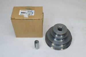 """NEW Congress Drives 4"""" Diameter - 4 Step Pulley 5/8"""" Fixed Bore - Die Cast"""