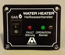 ATWOOD GAS HOT WATER SINGLE SWITCH BOARD WITH LIGHT INDICATORS
