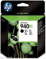 Genuine HP 940XL Black Ink Cartridge C4906A for OfficeJet Pro 8500 8000 Boxed