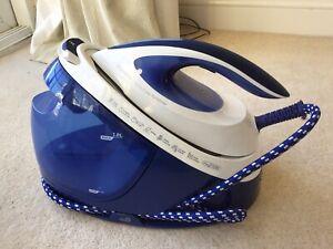 Philips GC8733/20 PerfectCare Performer Steam Ceramic Generator Iron White/Blue