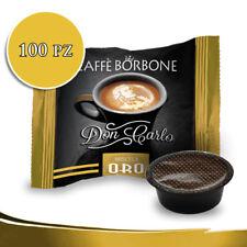 Caffè Borbone MISCELA ORO DON CARLO 100 CAPSULE COMPATIBILE LAVAZZA A MODO MIO