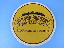 Beer Coaster ~ UPTOWN Brewery / Liquid Art at its Best, Tempe, ARIZONA ** CLOSED