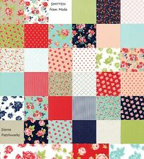 "SMITTEN Charm Pack from MODA - (42) 5"" factory-cut fabric square set - 55170PP"