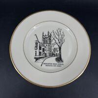 Vtg Princeton High School Choir Colmar 1989 Commemorative Plate Lenox Mansfield