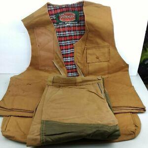 World Famous Rubberized Rainwear Men's Medium 38-40 Duck Hunt Vintage