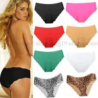 Women Soft Underpants Seamless Lingerie Briefs Hipster Underwear Panties Xmas !