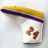 MAMBA MENTALITY Golf Putter Cover Head Cover Magnetic Blade Headcover #8 24 NEW