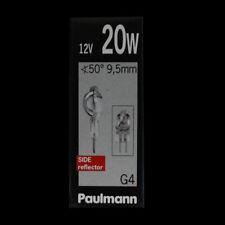 Paulmann 831.42 Halogen Stiftsockel klar G4 20W AXIALWENDEL  SIDE reflector