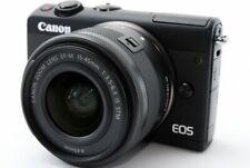 Canon EOS M100 24.2MP 15-45mm Lens Set [Exc++++] w/8GB SD Card,Box,Strap [645]