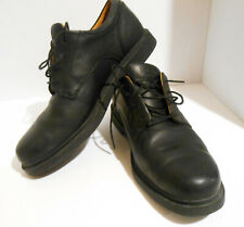 Timberland Black Leather Oxford Waterproff Shoes Mens US Size 10.5 M