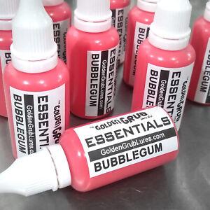 NEW 1 OZ. BUBBLEGUM PINK Essentials Dye Color Fishing Soft Plastic Plastisol