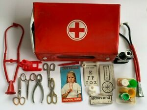 Vintage Toy, DOCTOR / NURSE KIT, PRETEND PLAY SET