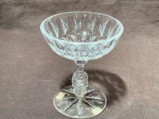Rare Dorflinger American brilliant period cut glass champagne wine 4.5� Abpcg