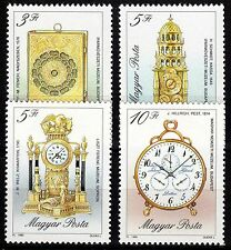 Hungary - 1990 Antique clocks - Mi. 4120-23 MNH