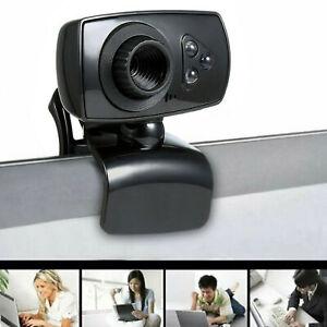 Full HD 50MP Webcam USB 3 LED Videokamera mit Mikrofon für PC Laptop Clip-on