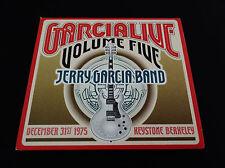 Jerry Garcia Band Garcia Live Volume 5 Five CD 12/31/1975 Keystone Grateful Dead