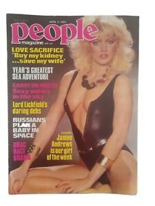 Vintage People Magazine April 6 1982 In Great Condition fully intact