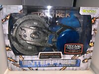 "2003 Art Asylum Star Trek Battle Damaged Enterprise NX-01 12"" Starship-NRFP"