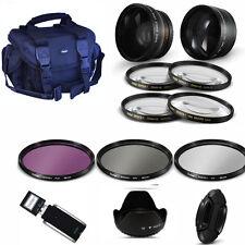 Lens & Filter Kit + GADGET BAG for SONY ALPHA A230 A330 A500 A550 A100 A200 A290