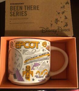 Disney Starbucks Epcot Been There Series Coffee Mug New