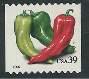 Scott# 4003...39 Cent...Crops...Peppers...2 Stamps