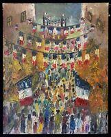 Saint-Tropez le 14 juillet Postimpressionnisme à identifier ? Pour historien art