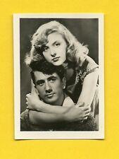 Daniel Gelin Nicole Courcel Vintage 1953 Movie Film Star Cigarette Card Germany