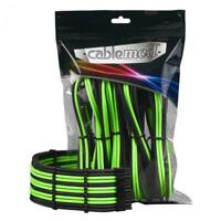 CableMod PRO ModMesh Cable Extension Kit - Black/Light Green