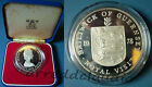 GUERNSEY 25 PENCE ROYAL VISIT1978 ARGENTO 925 PROOF