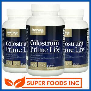 JARROW FORMULAS - COLOSTRUM PRIME LIFE 120 Caps - USDA Certified Immunoglobulins