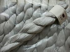 Lotus Yarns - Silky Cashmere Fingering shade 13 Silver (price per 55g skein)