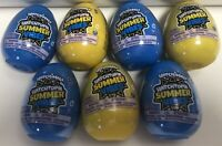 Lot of 7 Hatchimals Colleggtibles Hatchtopia Summer Vibes Blind Eggs New/Sealed