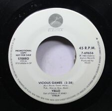 Pop Promo 45 Yello - Vicious Games / Vicious Games On Elektra