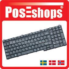 Orig. Nordic Tangentbord Satellite P300 P300D P305 P305D X300 SCA Tastatur New